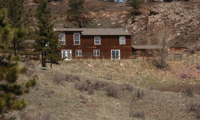 Home on 35 Acres in Colorado Mountains