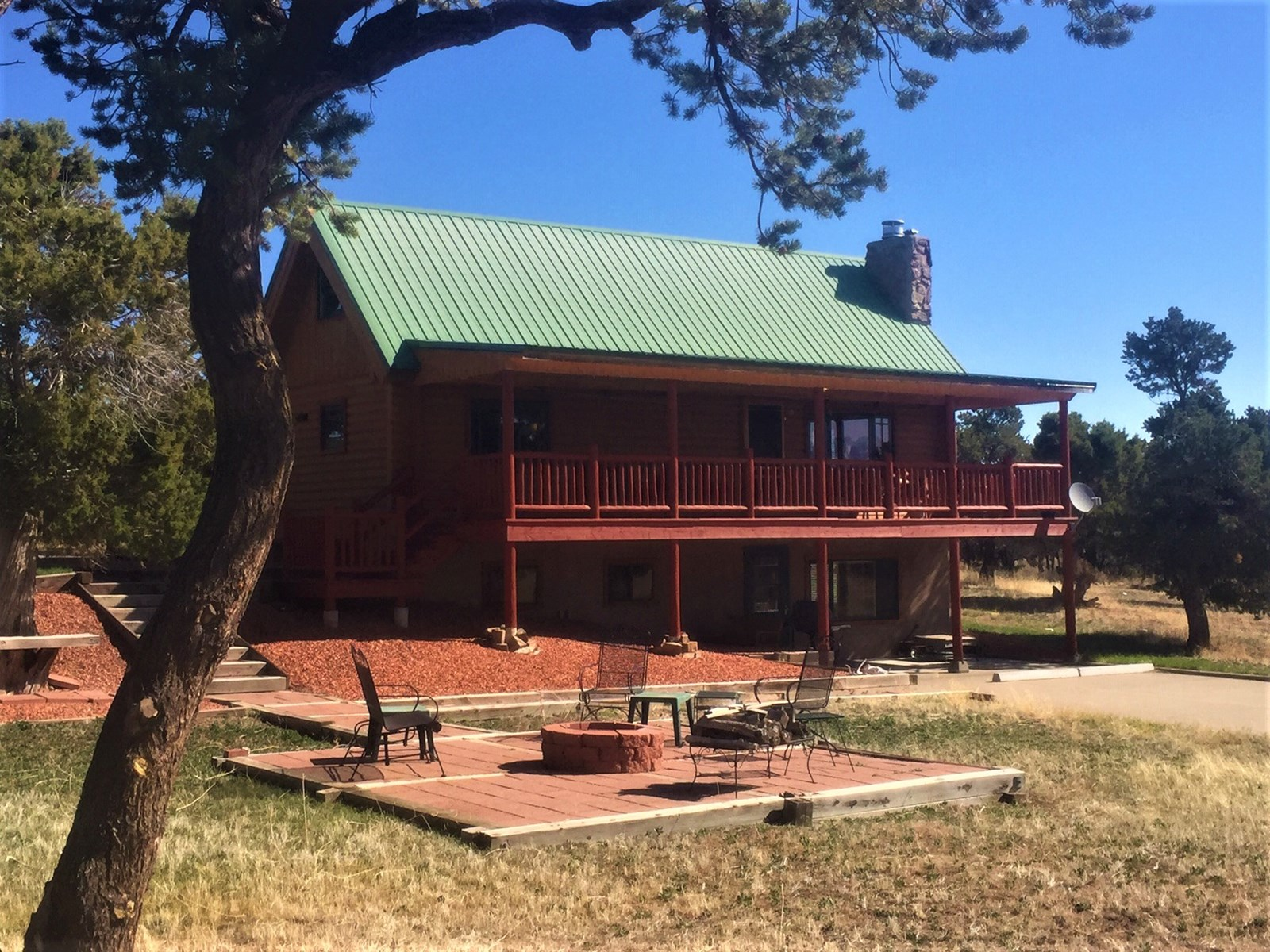 Classic Colorado Log Home Located on 45 Acres, Montrose, Co