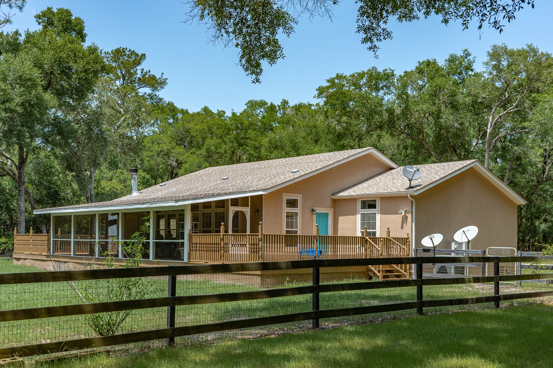 39+ ACRES W/ MODULAR HOME FOR SALE -Gilchrist County Florida