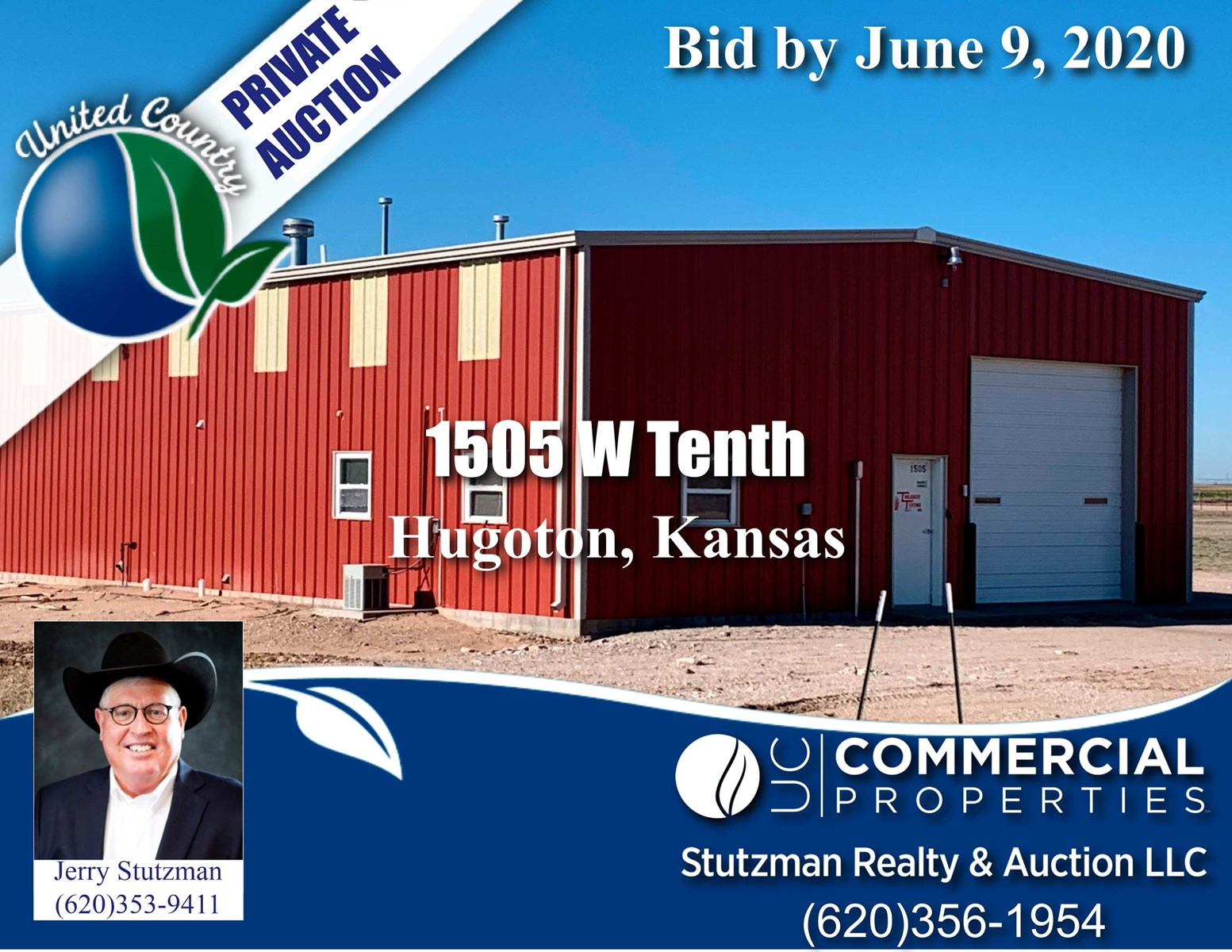 COMMERCIAL PROPERTY IN SW KS UP FOR AUCTION