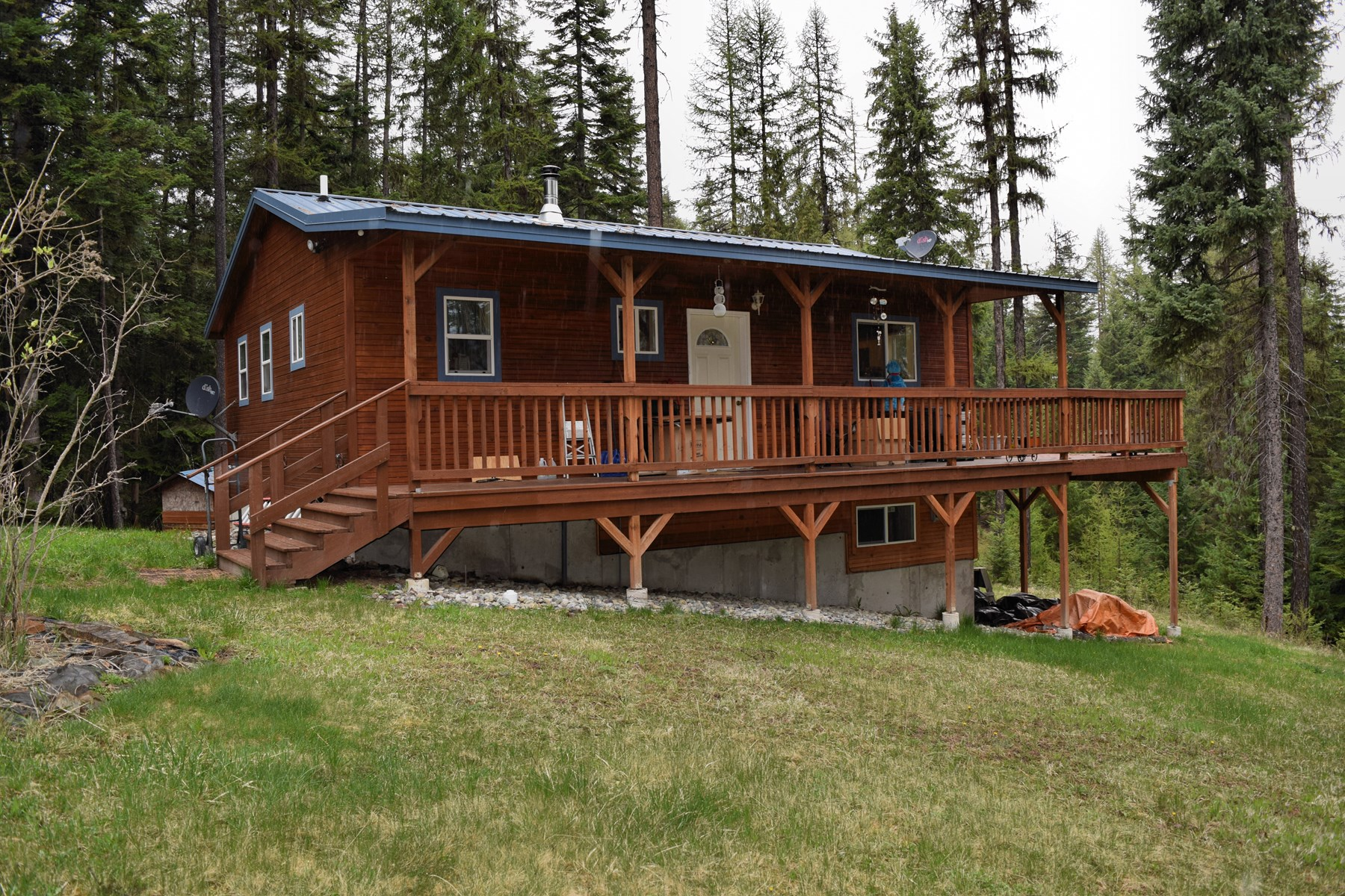 Montana Mountains Cabin and Land For Sale, Thompson falls