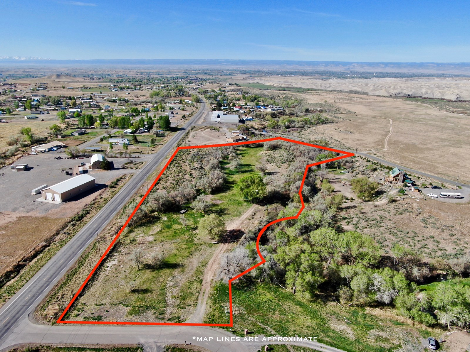Residential with Commercial Vacant Land for Sale Colorado