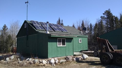 Alternative Energy Home For Sale in Maine