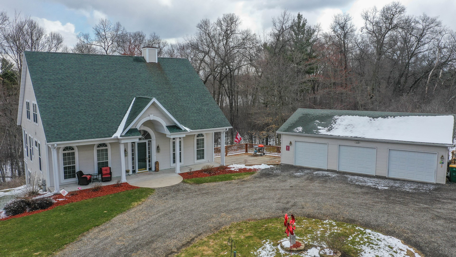 Lake Home for Sale in Iola, WI