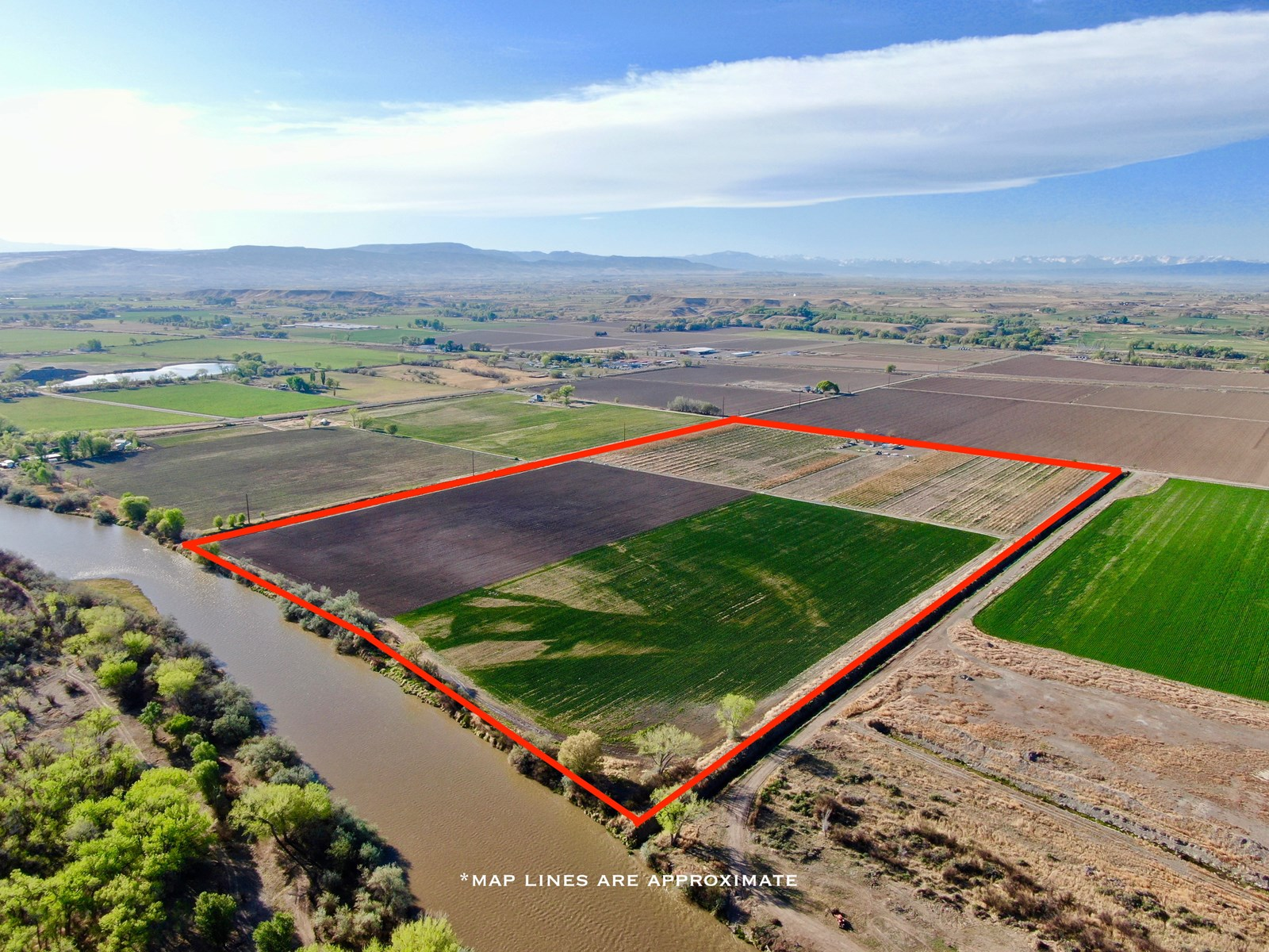 Delta Colorado Hops and Row Crop Farm Land For Sale