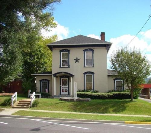 Historic building on Main Street in Wytheville, VA