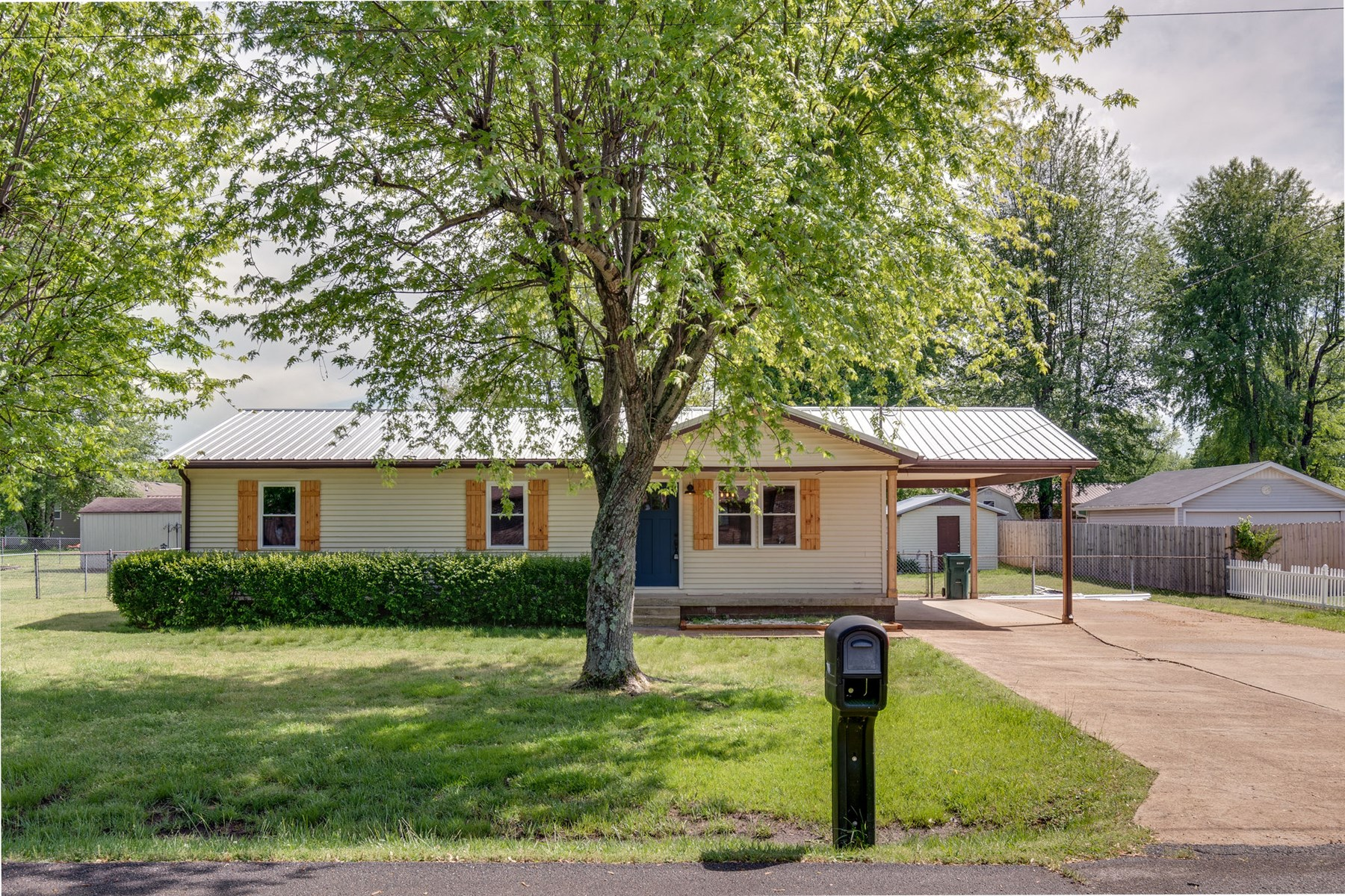 Renovated Ranch with Carport, for Sale in Hohenwald, TN