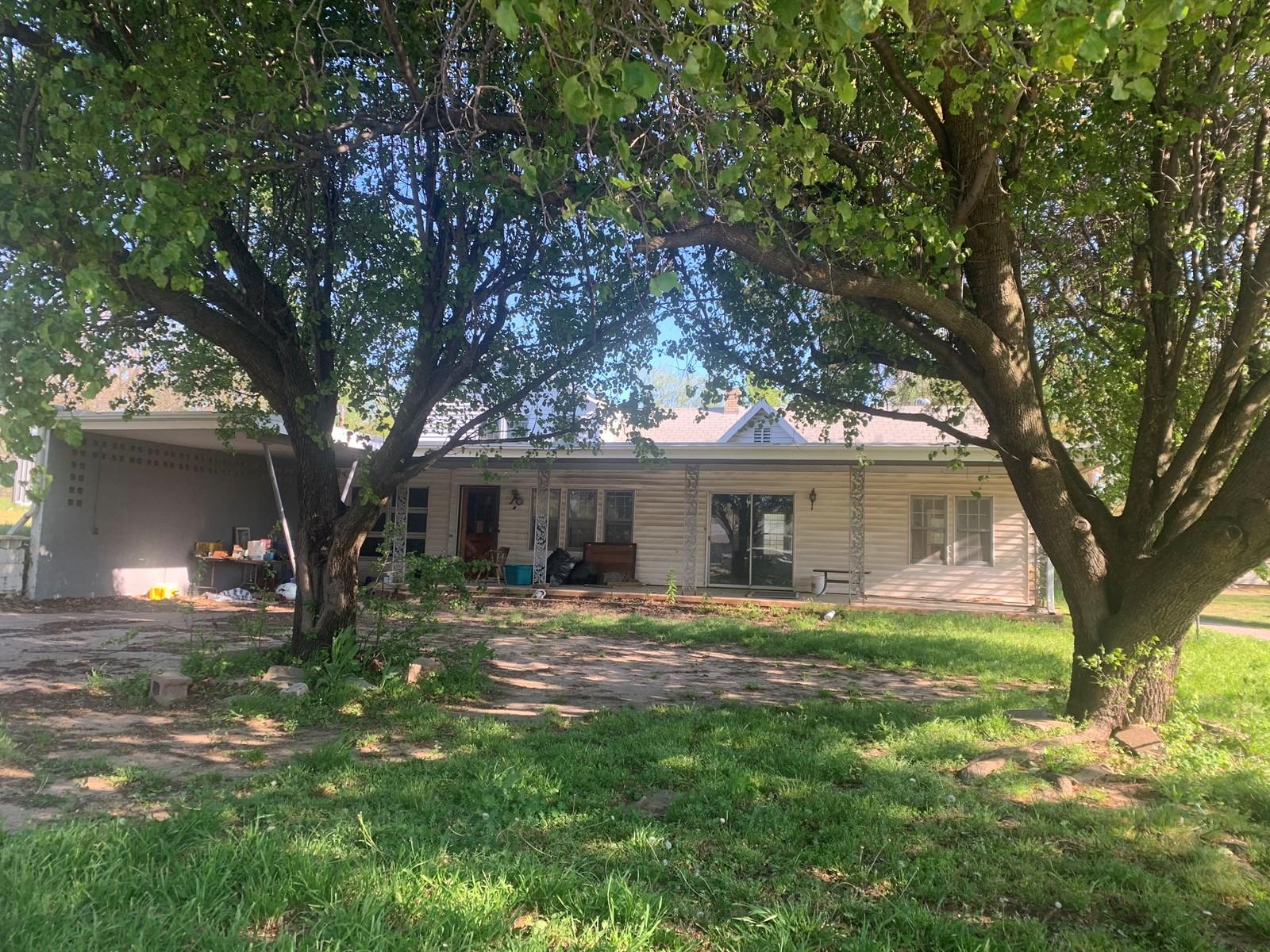Country Home  2.5 Acres Ponca City Okla. Osage County McCord