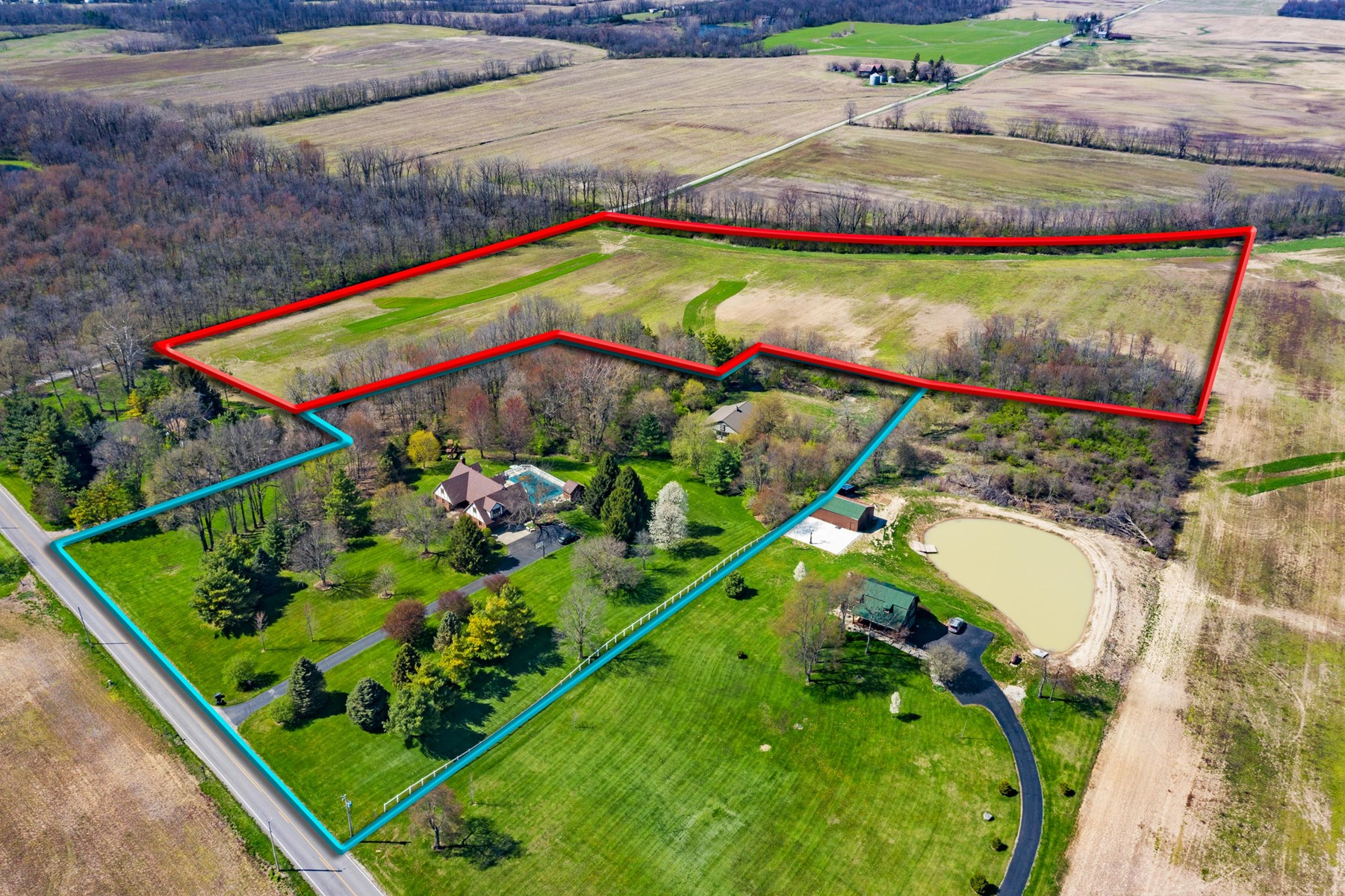 Tillable Acreage for Sale Eaton, Indiana