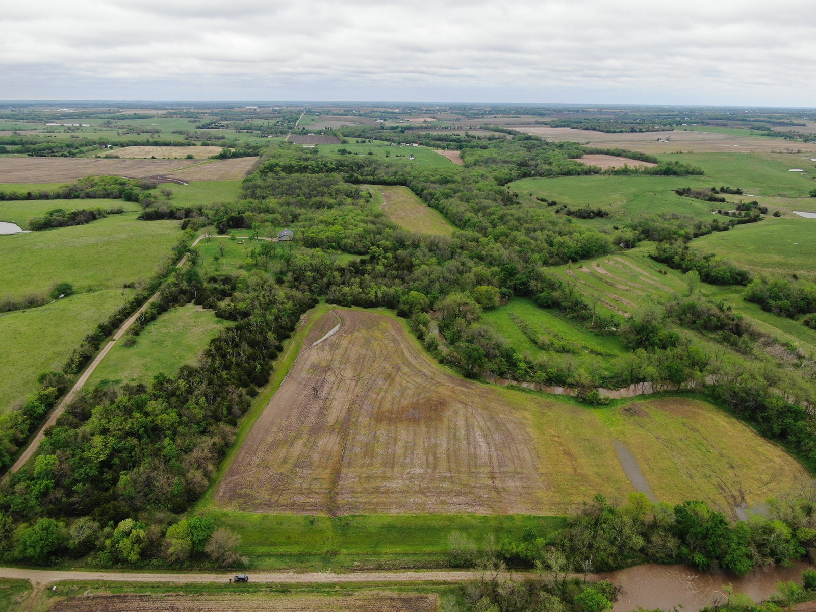 Turn-Key Kansas Hunting Land For Sale with Farming Income