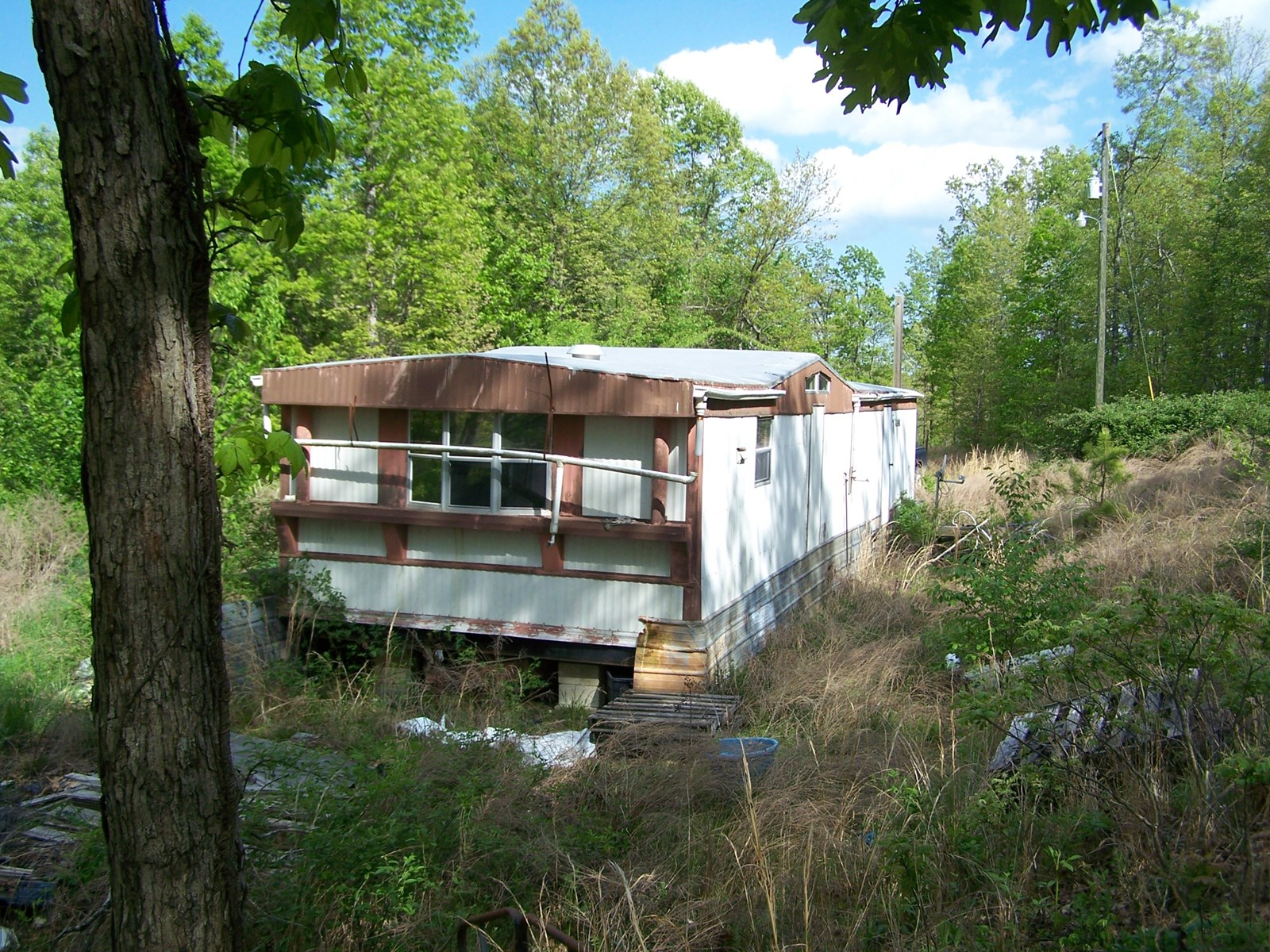 Arkansas Recreational Land For Sale with Mobile Home.