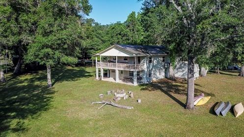 SANTA FE RIVERFRONT HOME FOR SALE - BRANFORD, FLORIDA