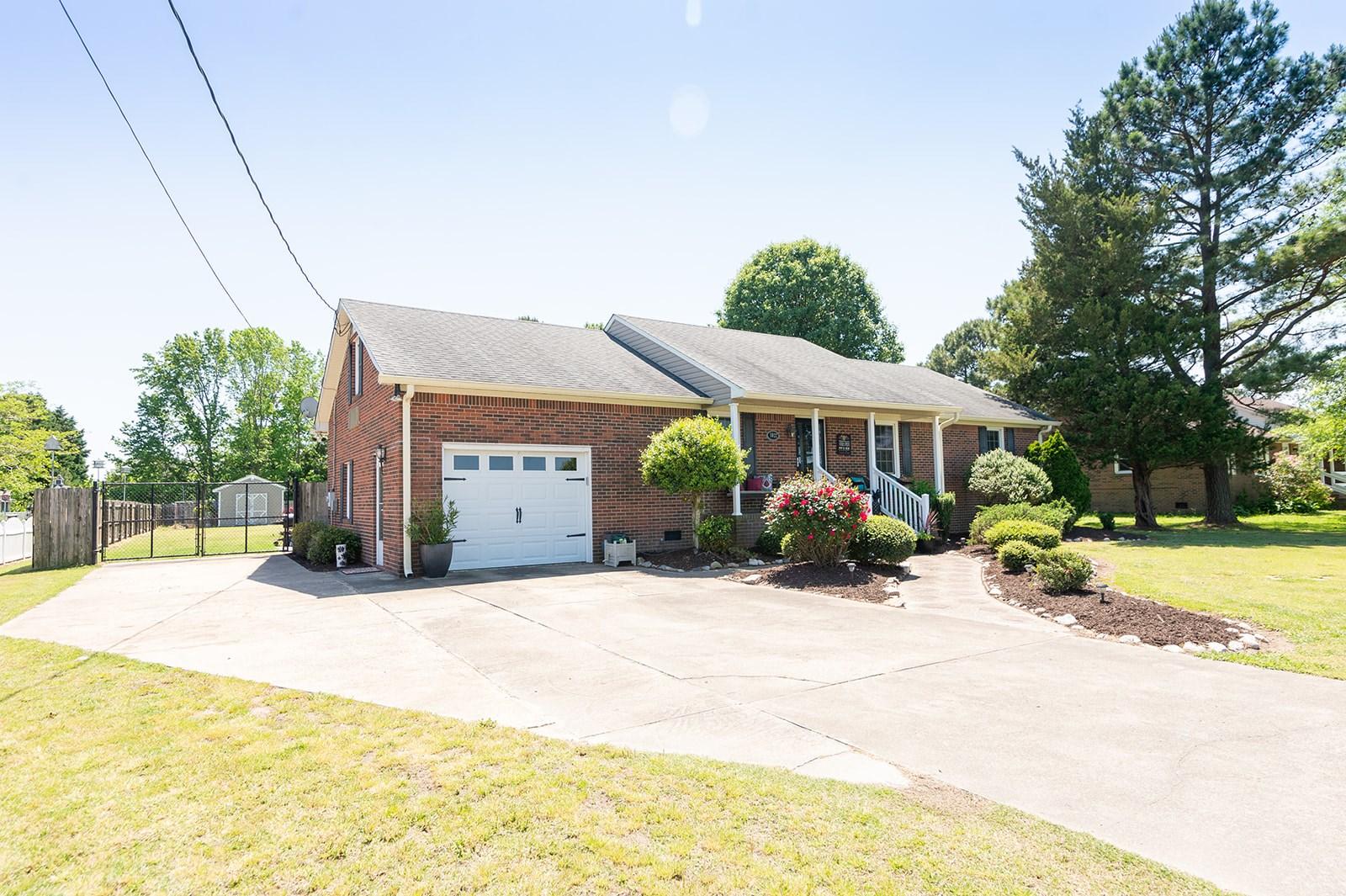Elizabeth City All Brick Home For Sale