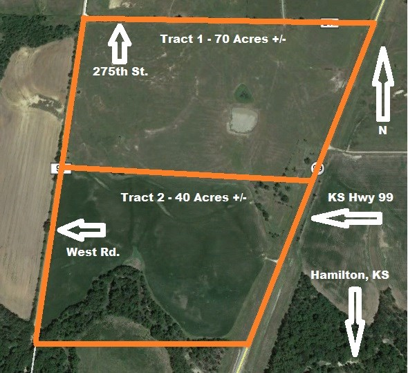 Greenwood County, KS Land Auction