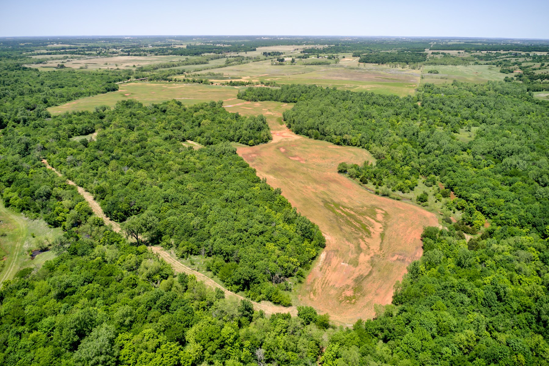 Deer, Turkey, Hog Hunting Land For Sale Lincoln County, OK