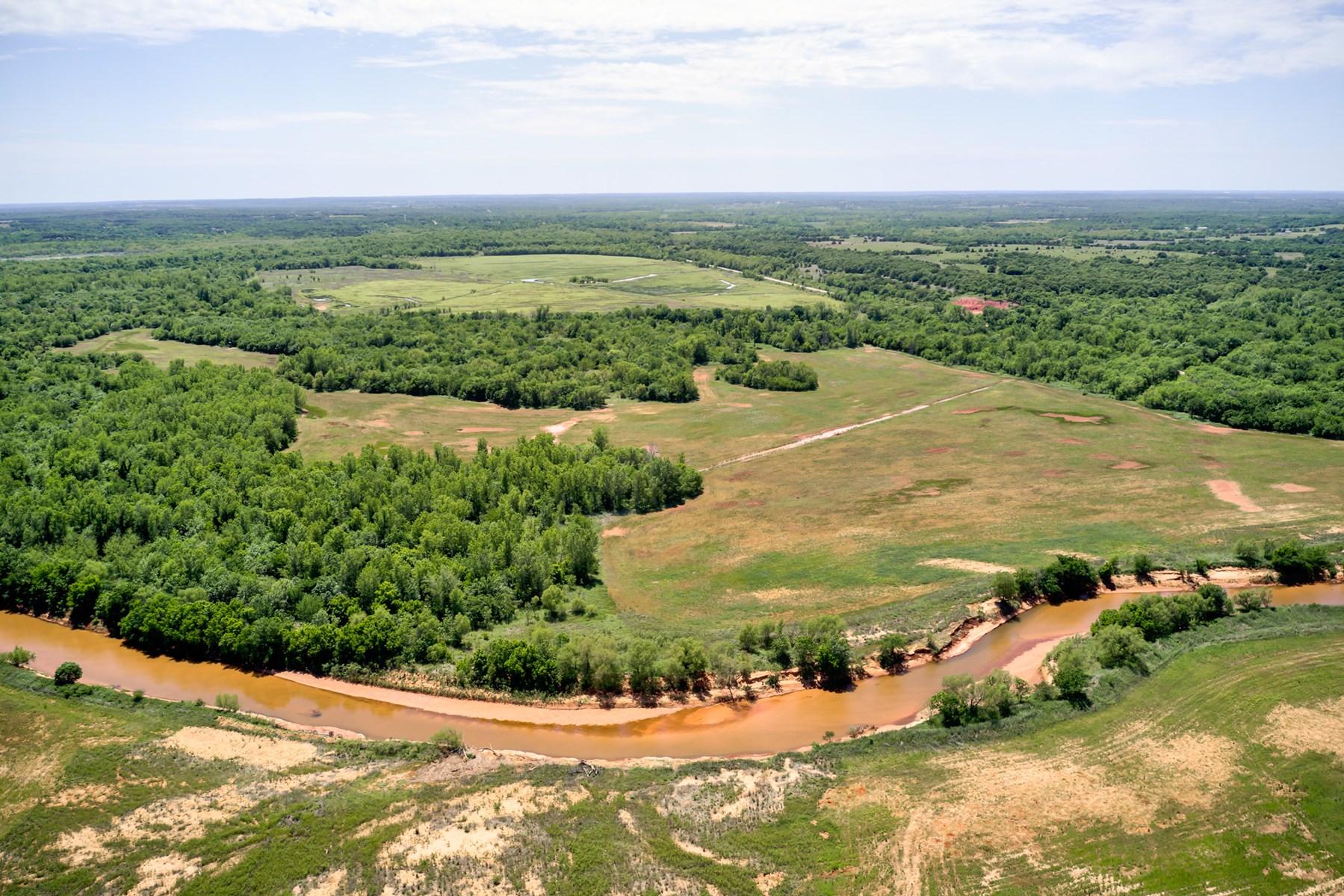 Deer, Turkey, Hog Hunting Land For Sale Lincoln County, OK