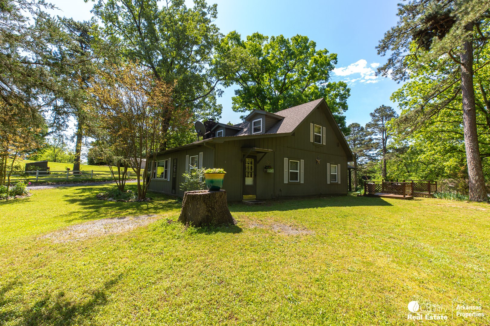 Country Home with Shop and acreage near Mtn. Fork River