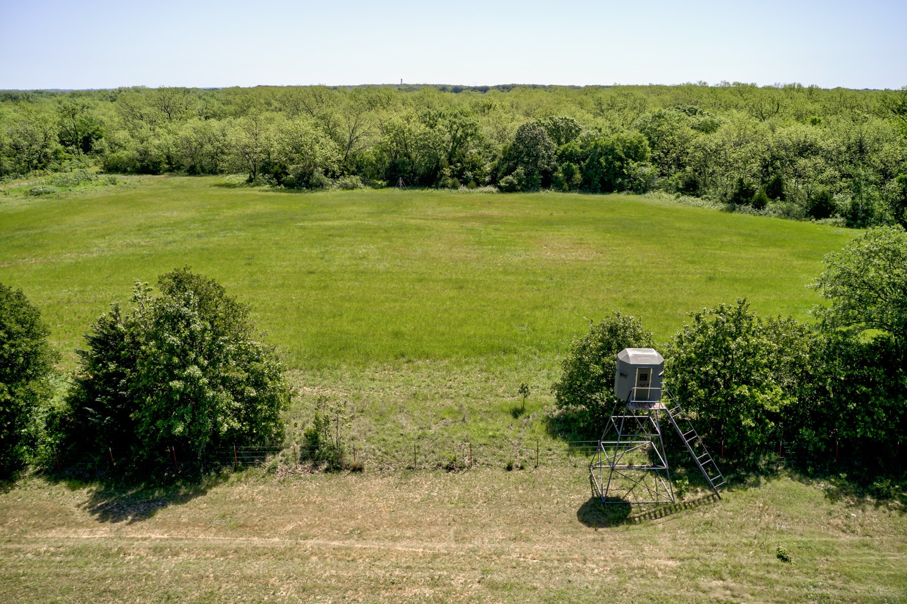 Large Hunting and Fishing Acreage in Lincoln County, OK