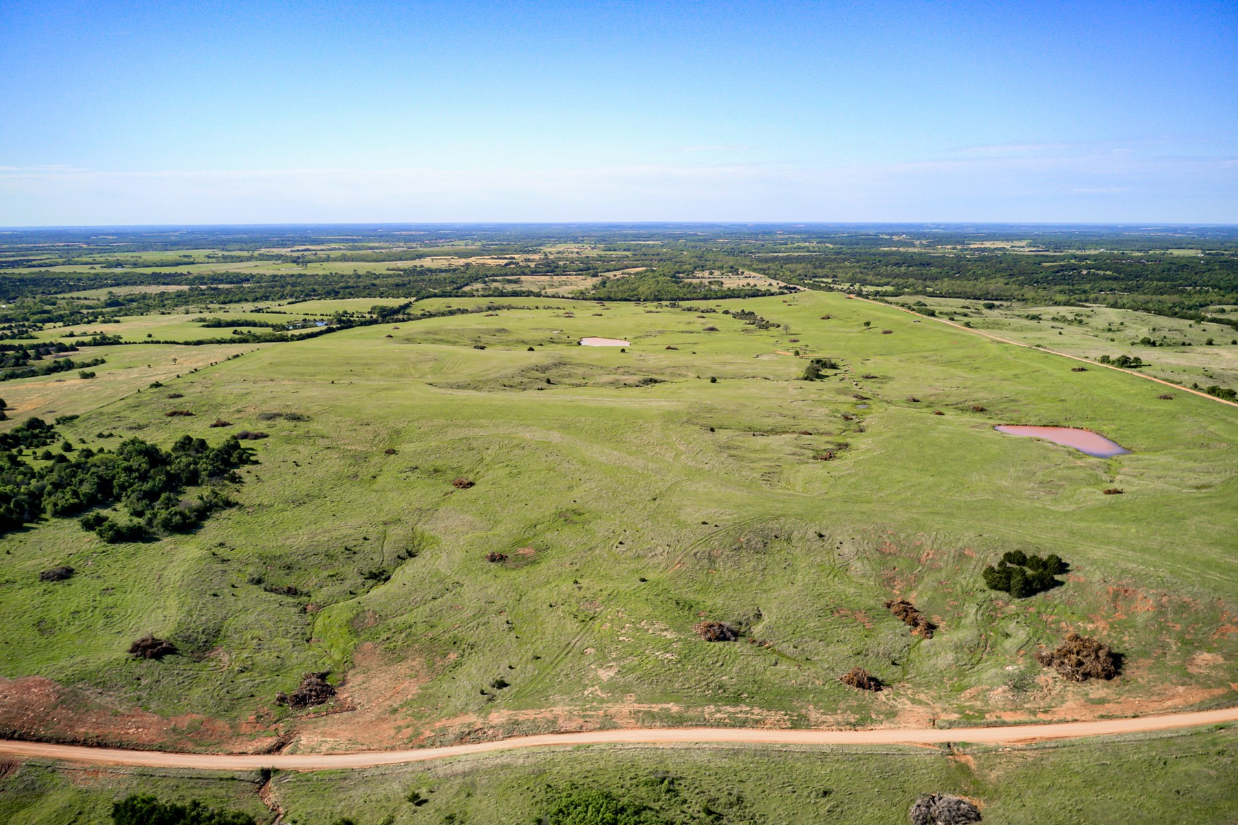 Beautiful Pasture Land Near Cushing, Oklahoma