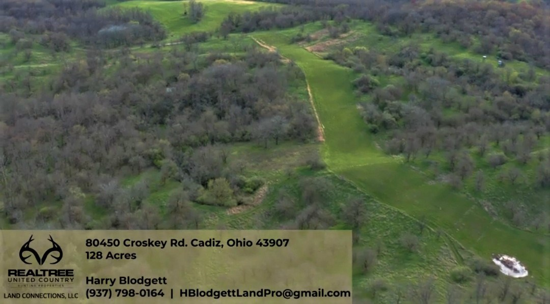 128 acres of Prime Whitetail hunting land in Eastern Ohio