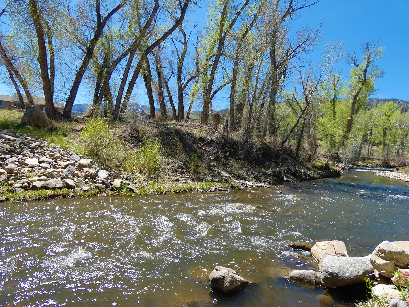 Riverfront Home Site-1112 Little River Lane, Poncha Springs