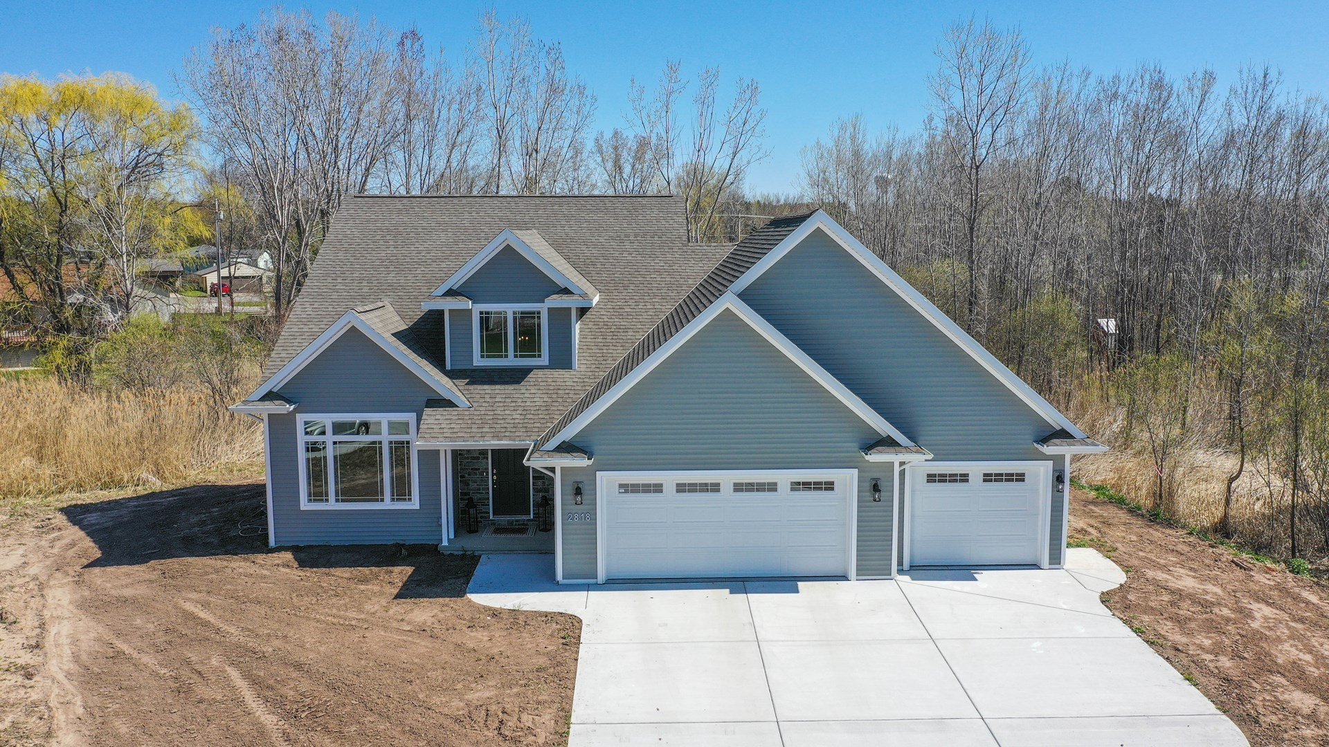 New Construction Home for Sale Suamico, WI + Green Bay Area
