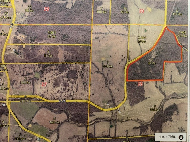 47 acres in Ripley County
