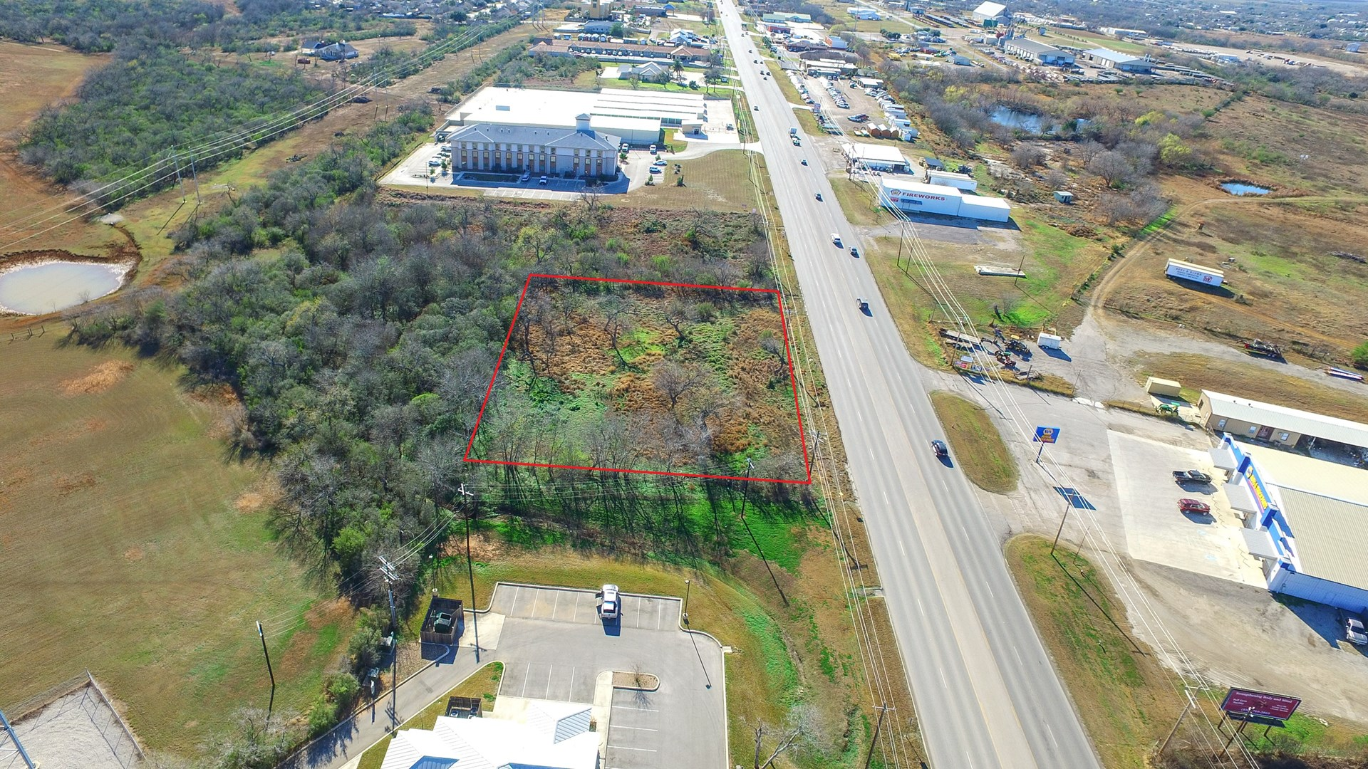 Premium Commercial Tract- Jourdanton, TX!