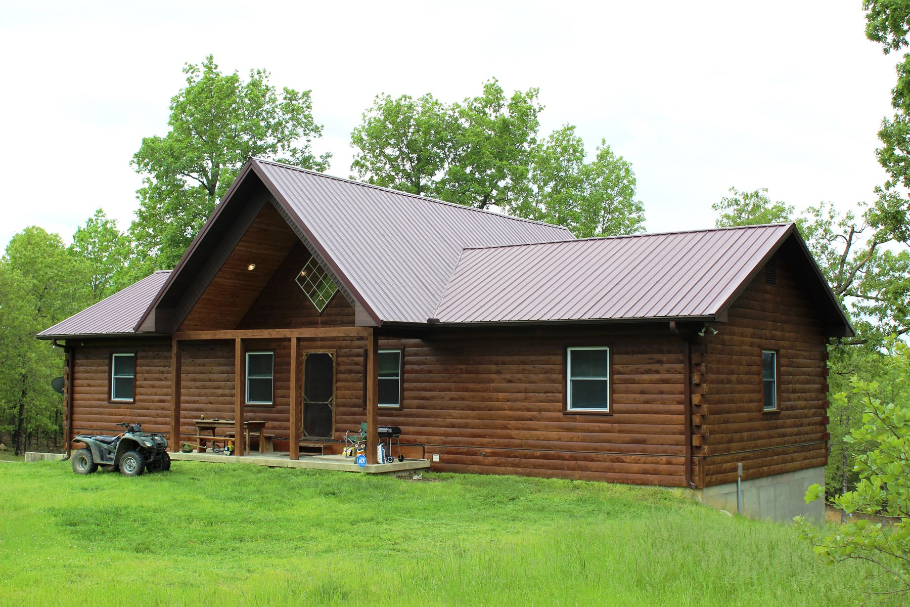 Log Home on 30 acres for sale Fulton County, Arkansas