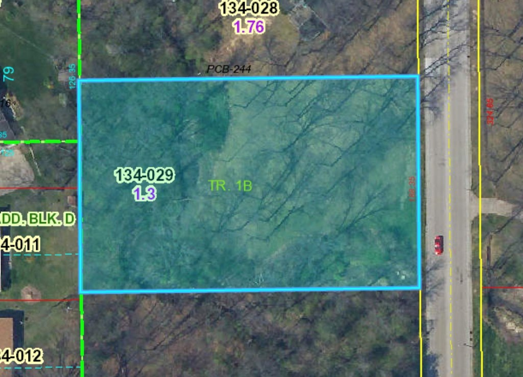 1.3 Acre Lot, N. Allen St., Robinson Online Auction