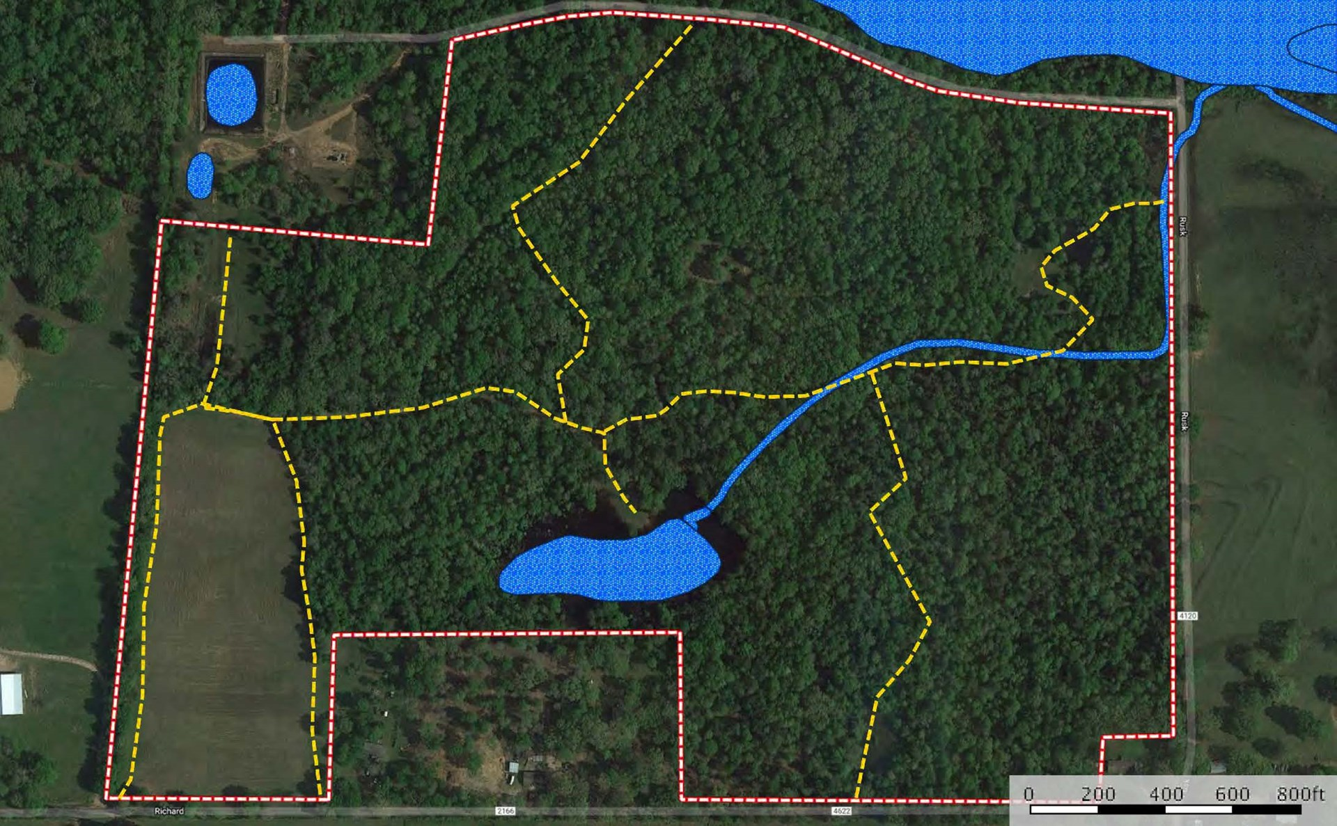 East Texas Recreational Hunting Land for Sale near Tyler TX