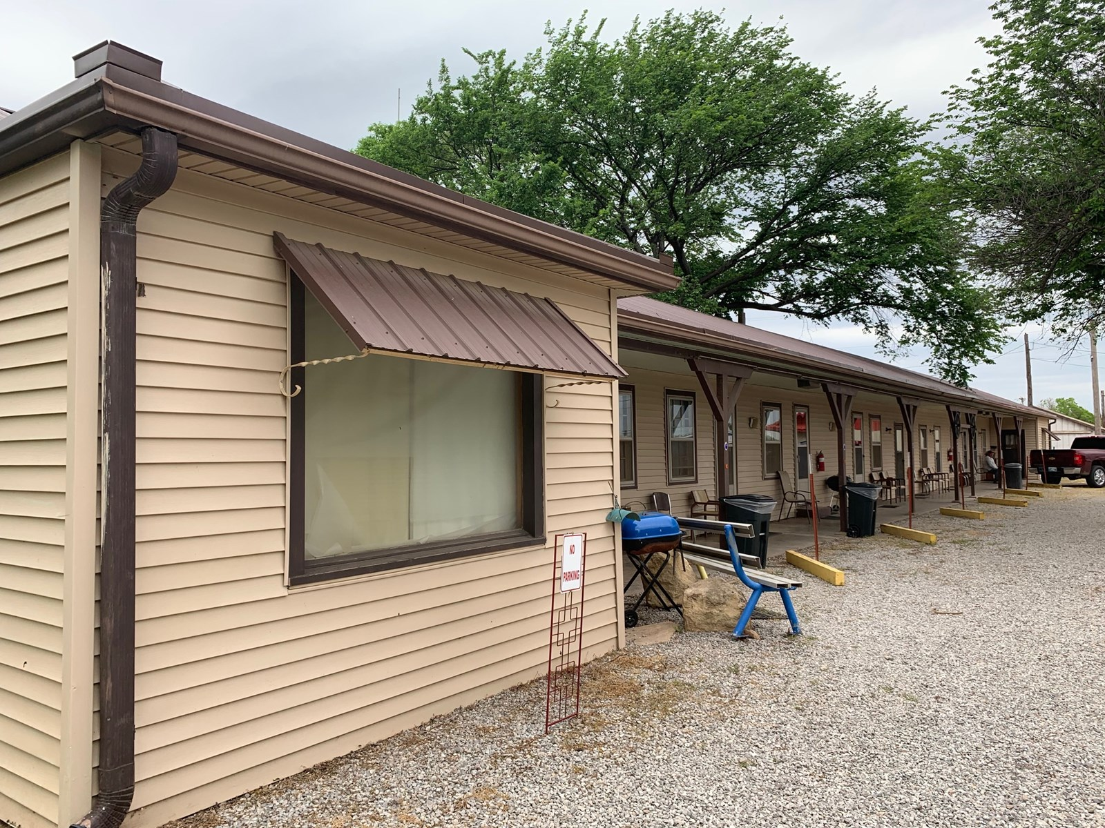 Turnkey Motel & Laundromat For Sale in Grant County, OK