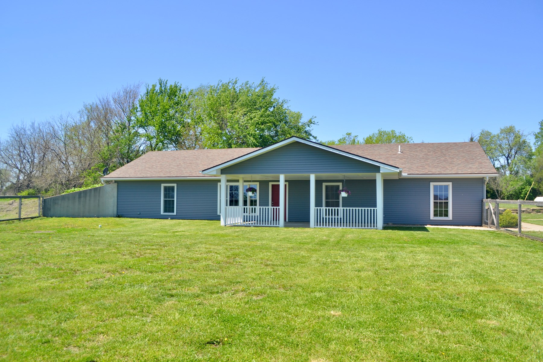 Spacious Valley Falls, Kansas Country Home for Sale