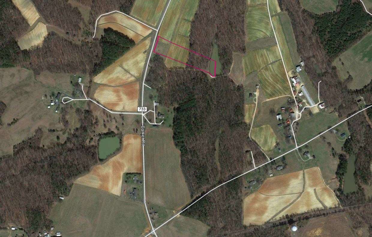 3+/- acre lot in Ringgold, VA