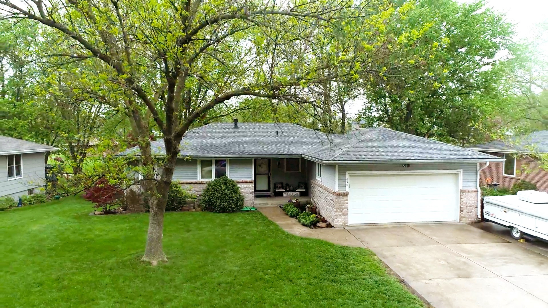 3 bedroom ranch style home in Hickman.