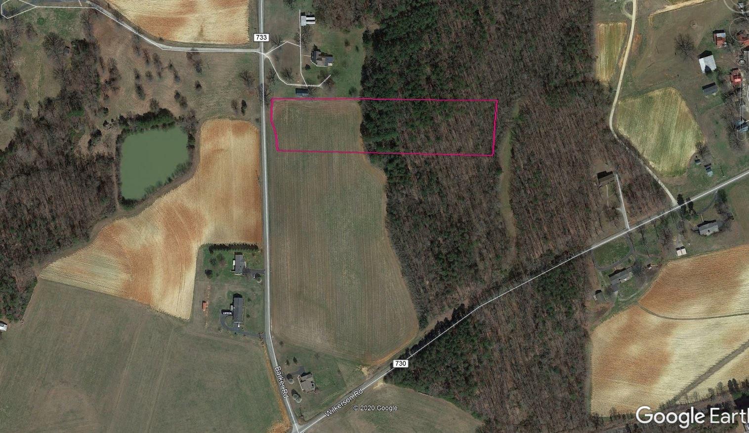 4+/- acres lot in quiet farming area of Ringgold, VA