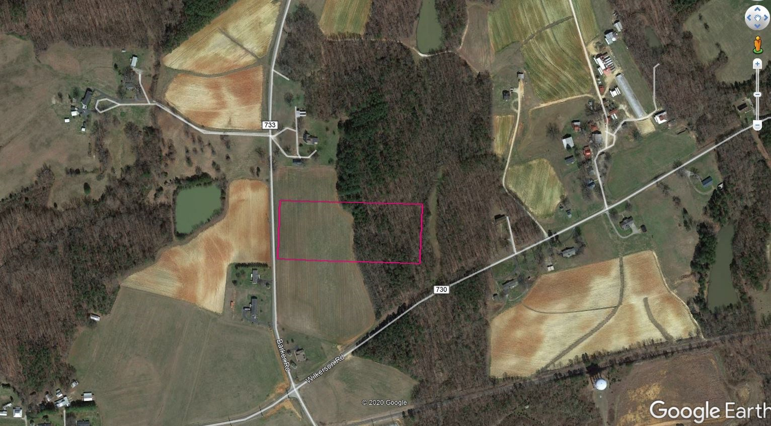 7+/- Acres of gently rolling land in Ringgold, VA