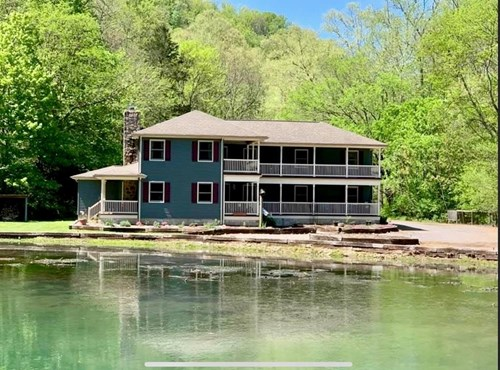 Hunting & Recreational Ranch with Home For Sale in Hilham TN
