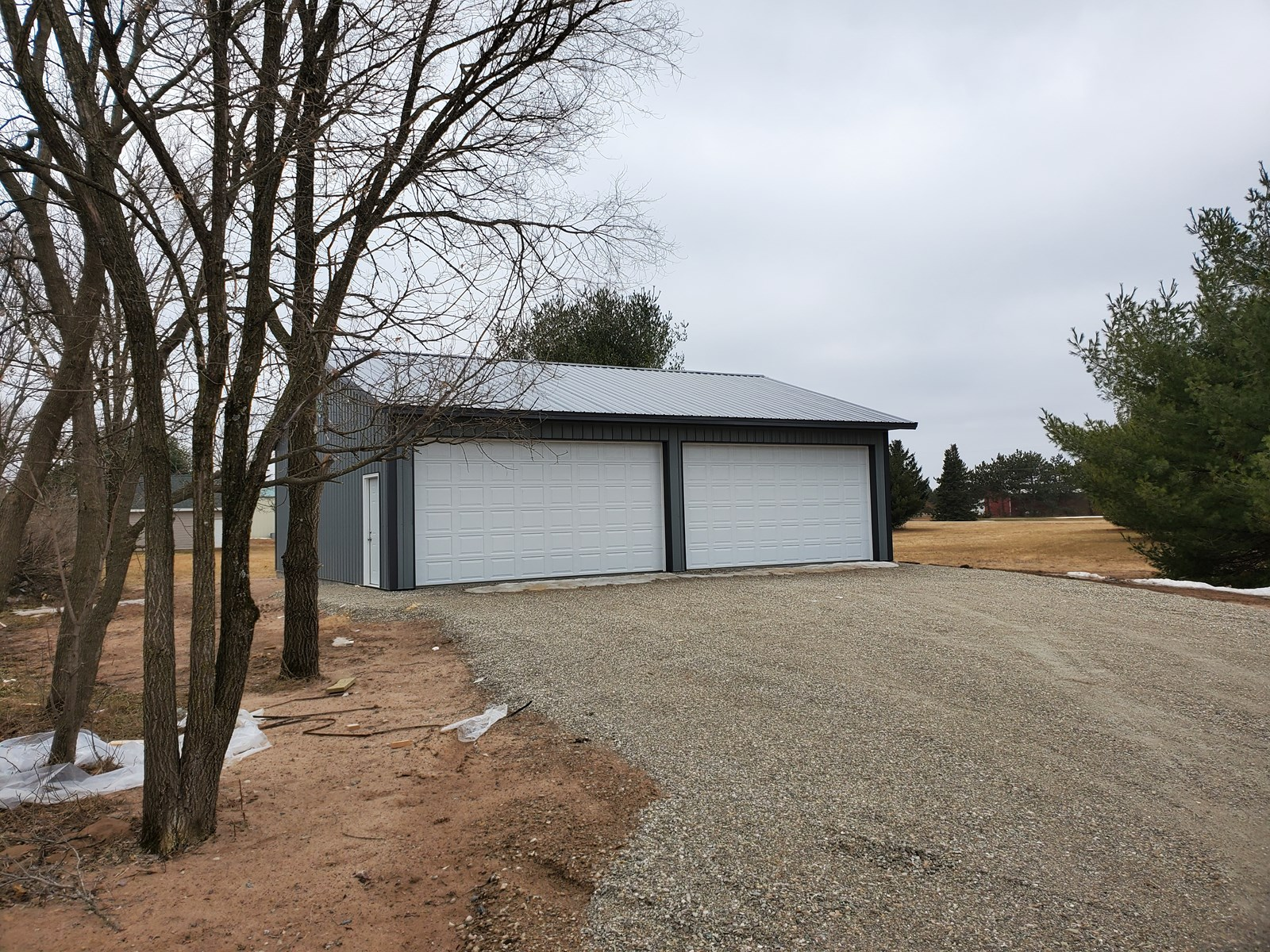 Land for Sale with Storage Shed in Waupaca, WI
