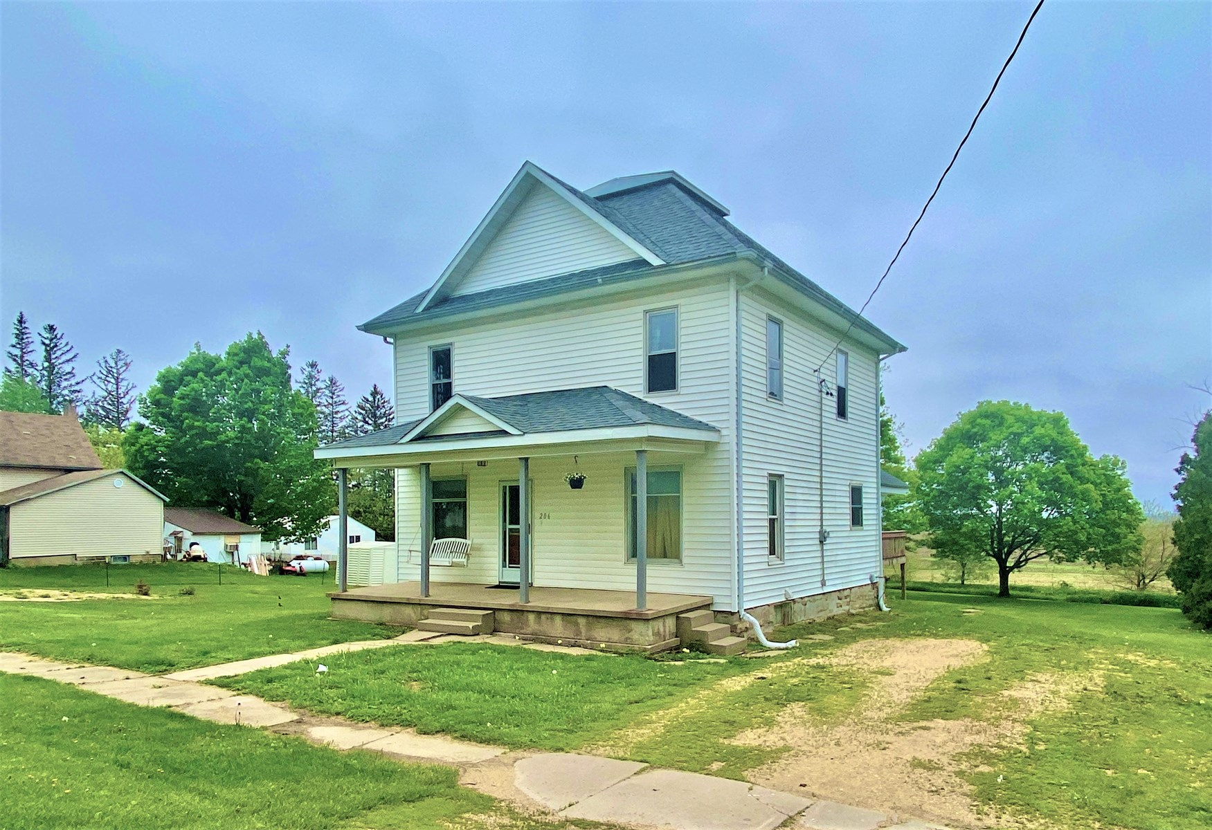 Small Town Iowa Home for Sale