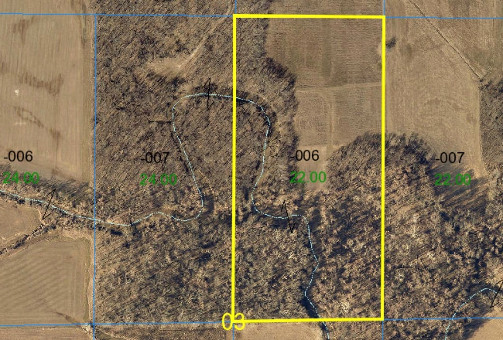 22 Acres Hunting Ground Jasper County, IL