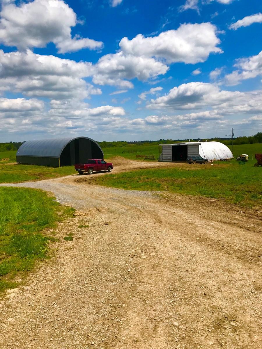 Central Kentucky Cattle Farm