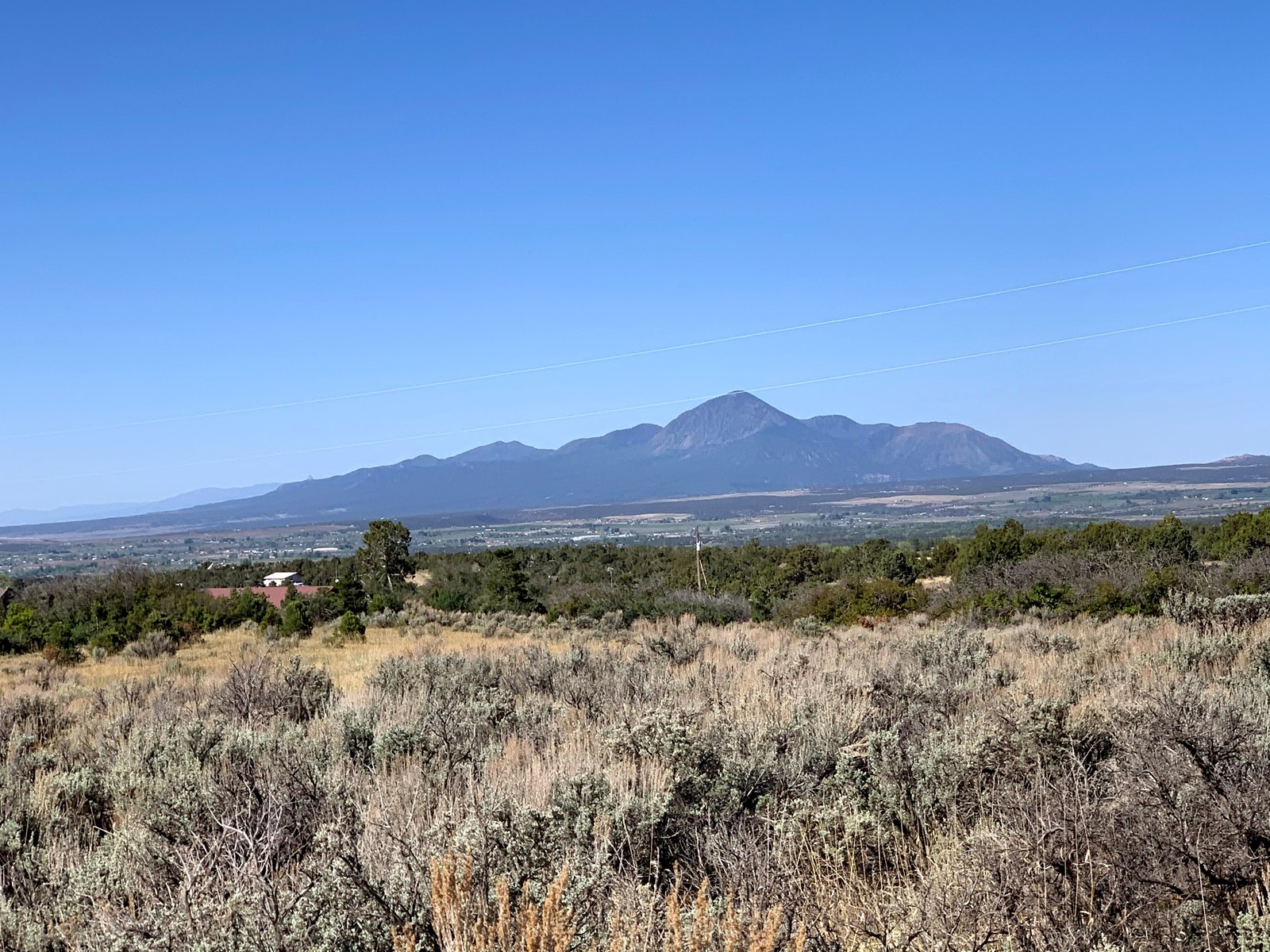 Building lot on 4.75 acres with mountain views, Dolores, CO