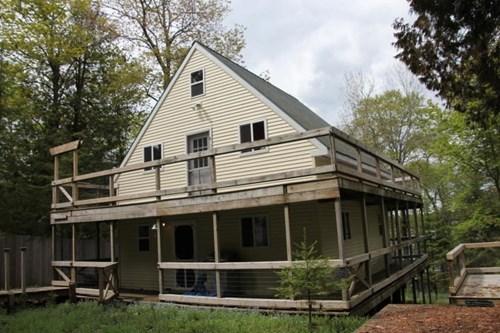 Custom Cottage on Big LaSalle Island, Cedarville Michigan