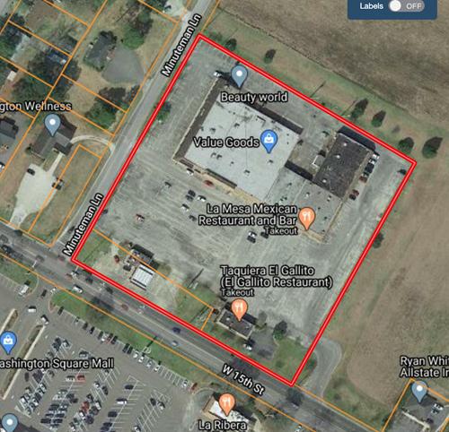 Shopping Center For Sale Washington NC, 5.5-Acres