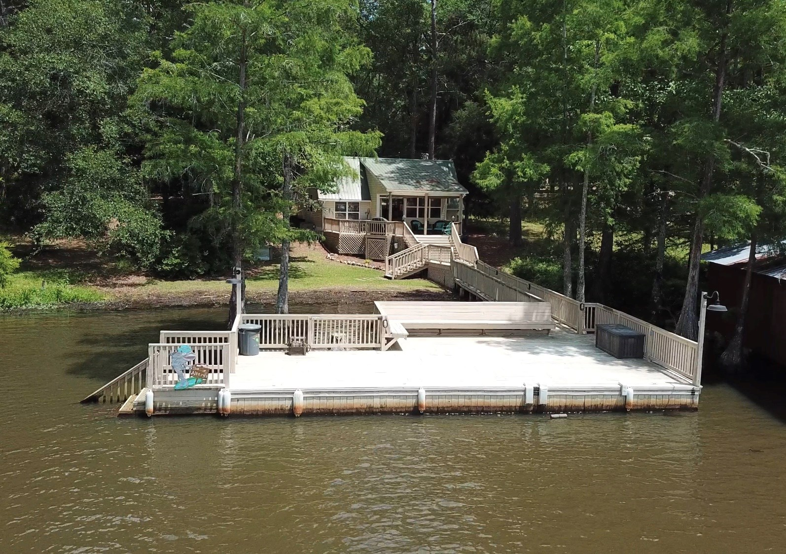 Gant Lake Home Alabama - Getaway Property Covington County