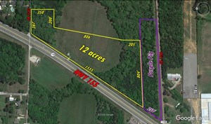 COMMERCIAL ACREAGE WITH HIGHWAY FRONTAGE