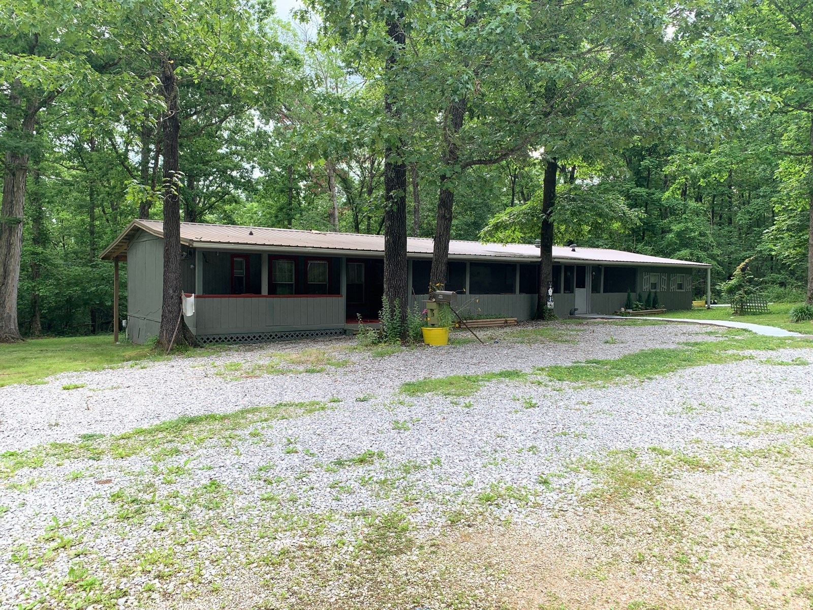 Arkansas Country Home for sale in Ozark foothills Maynard AR