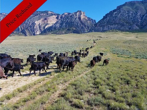 Wyoming Cattle ranch for sale 25,000 Acres Total.