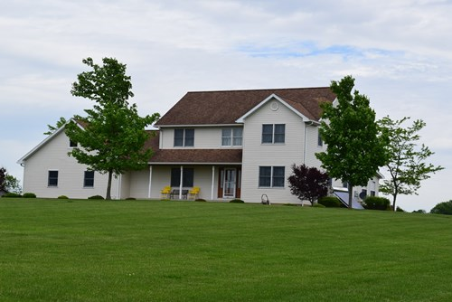 3 Acres +/- Sycamore, Ohio Country Home For Sale